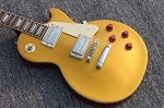 LP Guitar Light Yellow Gold Guitar,2 weeks Production time,Chrome or Gold hardware option