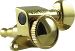 Gold Grover 6INLINE Roto Grip Locking Rotomatics Machine head tuner,505G6