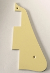 1 ply Ivory Les Paul LP pickguard without Edge Bevel