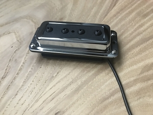 Eric Custom P90 design Bass Neck Pickup for Rickenbacker BASS,Chrome
