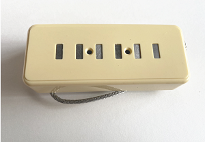 Eric Custom,Ivory Cover STAPLE P90 Soap Bar Guitar Pickup Neck or Bridge