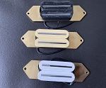 Humbucker Cancelling Bridge Pickup for Rickenbacker BASS,Black/Ivory/White