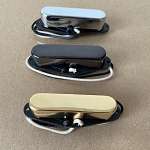 Eric Custom,Tele Neck pickup,Chrome/Black/Gold,Alnico 5 Rod