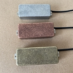 Eric Custom,Mini Humbucker Pickup,Antique Sliver/Antique Brass/Antique Bronze,Alnico 5