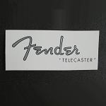Water Slide Decal Logo  Custom Telecaster for Fender Repair Restoration