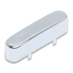 Tele Neck Pickup Cover Chrome,Brass Material