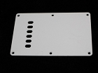 1ply White Tremolo Cover,Back Plate,made by Plastic injection