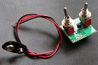Artec VTB-2,Vintage Tone Booster - 2Way 2Mini Toggle Switch