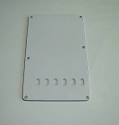 3Ply White vintage Back Plate Tremolo Cover for Fender,#CC016