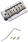 Wilkinson WVP2 Strat Bridge Tail Body Custom Chrome