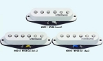 Wilkinson WVS single-coil Strat Set classic staggered polepiece ,a very accurate replica of a 60's style pickup, White,or Black Color,Alnico