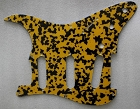 NEW Yellow Tortoise Shell Strat Pickguard,fits Fender 57' Strat