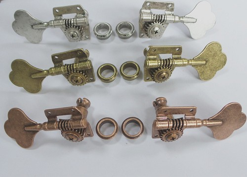 Left or Right Machine head Tuning Key, to custom your own sides,Open Frame style,Antique Sliver/Antique Brass/Antique Bronze