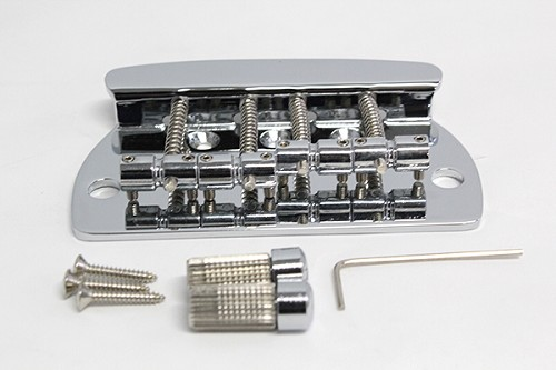 Chrome,Bass Bridge,4string,#MBB-4STRINGS-CR