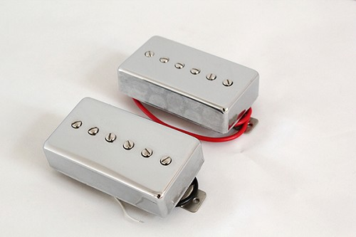 Vitage style Single Coil,Les Paul Pickup,Chrome Cover,Neck/Bridge,Alnico V,#LPS90-CR