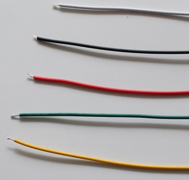 3 Meters(9.8 Feet) PVC Hook Up Wires,22awg ,Color Choices: White/Black/Red/Green/Yellow