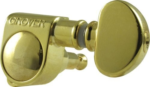 Gold Grover 6 INLINE 305G6 Mid-Size Rotomatic Tuners