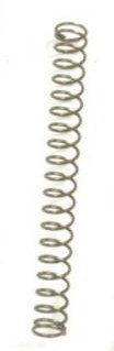 50pcs,43mm Straight  Humbucker Pickup Height Springs,Chrome Finish