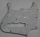'75 reissue Jazz Bass pickguard,White Pearl,#U005