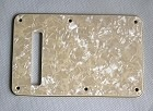 Ivory Pearl,Standard Stratocaster Back Plate