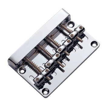 Chrome,Bass fixed Bridge,4string,ABBQ-405