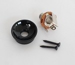 Tele Jack plate Cup For your Tele body custom,Black,Metric Thread