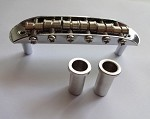 Chrome Mustang  style bridge,fit Fender Mustang  Jazzmaster Jaguar