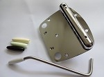 Chrome Tremolo,For Fender Mustang
