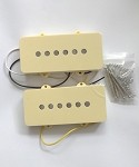Ivory Cover Pickup,Alnico,Neck and Bridge for Fender Jazzmaster