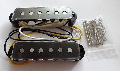Black cover Pickup,Alnico,Neck and Bridge for Fender Jaguar