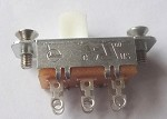 New,White Button,Slide switch for Fender Jazzmaster,Jaguar