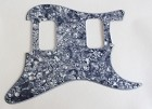 Stratocaster HH pickguard,Gray Pearl,fits fender new