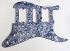 Gray Pearl,Strat 2H/1S(HSH) pickguard for Fender