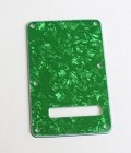 Green Pearl,Standard Stratocaster Back Plate