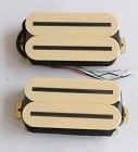 Artec HBLB Hot Rail Humbucker pickups,Ivory with Black bar,Ceramic