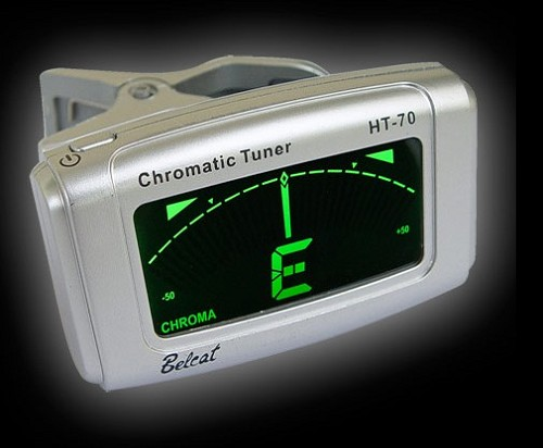 Belcat Automatic tuner with Chromatic,guitar,bass,ukulele functions-Silver or Black color