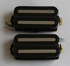 Artec HXTN Hot Rail Humbucker pickups,Black with Nickel bar,Neck or Bridge Opition,Ceramic