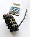 Black Electric Bass Tremolo,for your bass Custom or Upgrade