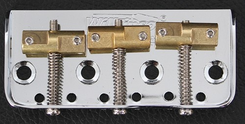 Wilkinson Short WTB Bridge Cut Off,for Tele body custom,Chrome