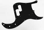 NEW 3 Ply BLACK P Bass Pickguard,For 62 Fender P bass