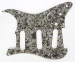 Stratocaster Standard pickguard 3ply Black Pearl fits fender new