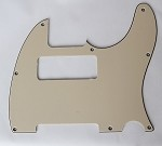 Tele P90 pickup Routing pickguard 3 ply Cream