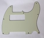 Tele P90 pickup Routing pickguard 3 ply Mint Green