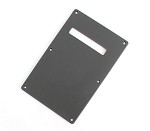 1ply Black Tremolo Cover,Back Plate,made by Plastic injection,#013