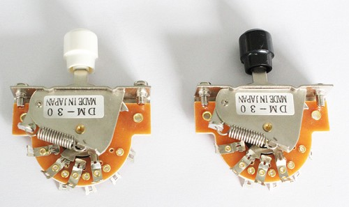 Vitage Style,Quality 3 Way Level Switch w/ Screws,For your Tele Telecaster Wire Custom,White or Black Switch Knob Choice