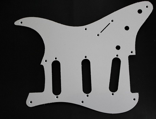 Stratocaster '57 pickguard 1ply White 1.5mm thickness fits fender new
