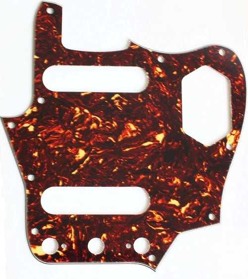 '62 JAGUAR Pickguard,Brown Tortoise Shell,#P043