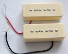 Powered by LACE pickup,Soap Bar Pickup,Ivory, 1 Set neck and bridge,LACE-LSS-001IV
