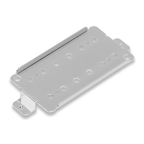 Les Paul Humbucker Pickup Base Plate 50mm or 52mm Pole Space,10mm Leg Height,Nickel Sliver
