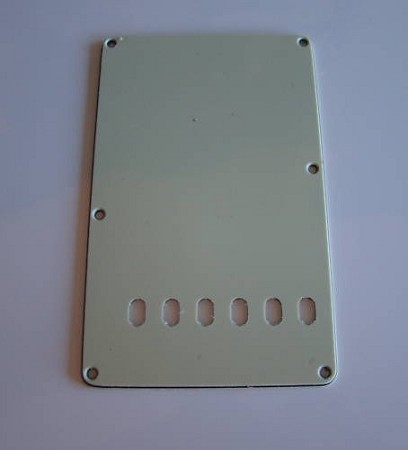 3Ply Mint Green Vitage Back Plate Tremolo Cover for Fender,#CC017
